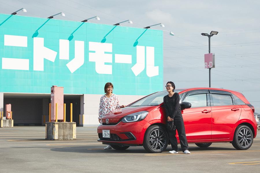 【PR】ママ友とショッピングドライブ!『Honda FIT 20周年 特別仕様車 Casa』